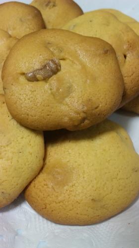 バター20g砂糖20g☆メープルクッキー