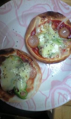 超簡単!ハマちゃうかも☆餃子の皮でピザ