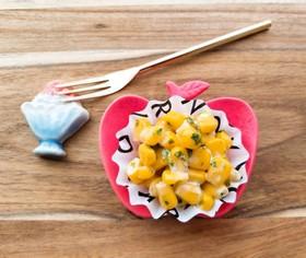 お弁当香る♪♫青ノリマヨコーン焼き❤