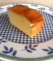 ミキサーで簡単ベイクドチーズケーキの写真