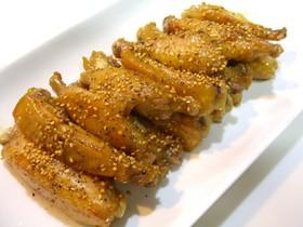 鶏手羽中の簡単甘辛煮