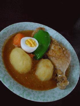 札幌発「スープーカレー(インド風チキンカレー)」