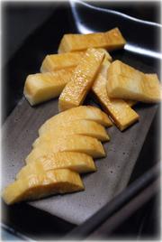 サクサク食べよう♪山芋のお漬け物の写真