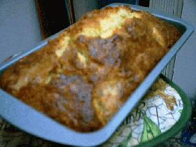 バナナとくるみのパウンドケーキ