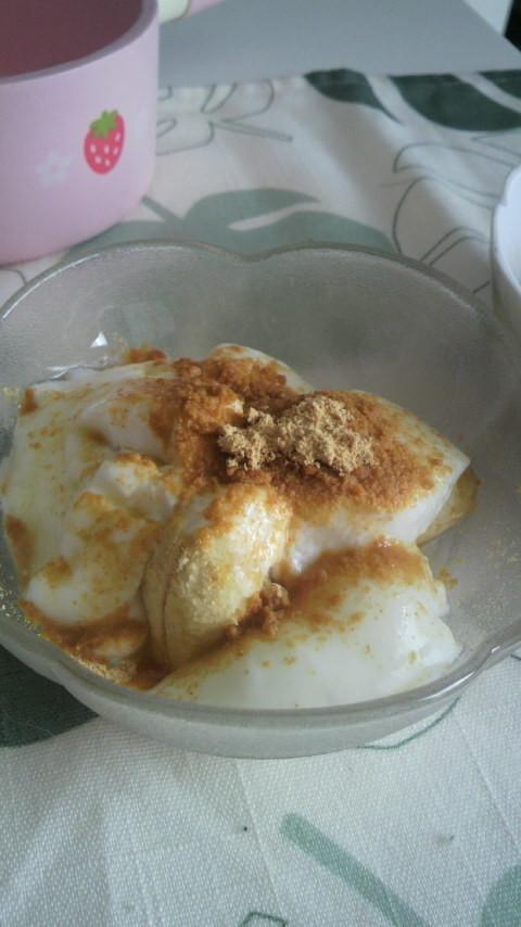 離乳食♪バナナヨーグルト