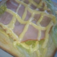 朝食に♪簡単ハムマヨトースト★