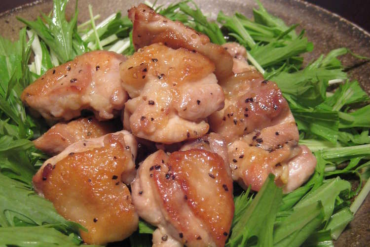 鶏 もも肉 ポン酢
