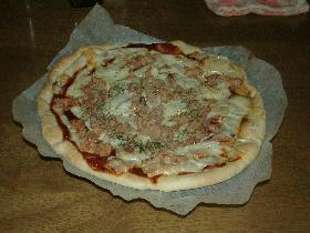 変わり簡単ピザ