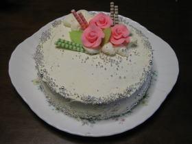 基本のココアスポンジケーキ