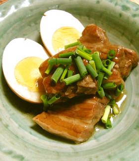あんかけ東坡肉トンポーロウ(黒酢角煮)
