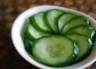 美味しくて教えてもらった胡瓜の漬け物✿