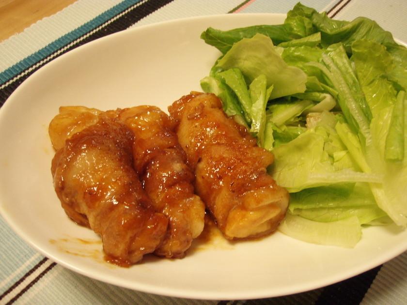 ~お弁当に~高野豆腐の豚肉巻き照り焼き