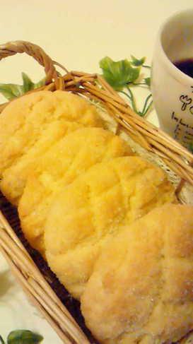 ホットケーキミックスで可愛いメロンパン