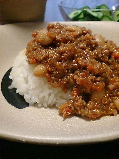 おいしいお豆のべジキーマ・ドライカレー