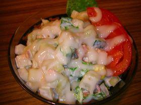 簡単美味しい♪コロコロ野菜サラダ