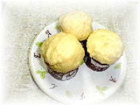 ホットケーキミックスで★チーズ蒸しケーキ