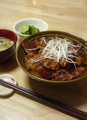 北海道十勝風~豚丼!とタレ