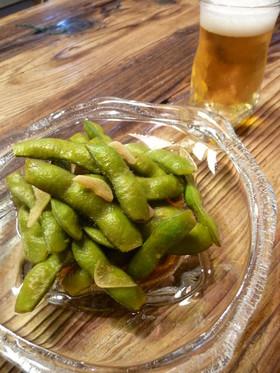 しょうゆ枝豆