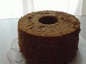キャロブシフォンケーキ