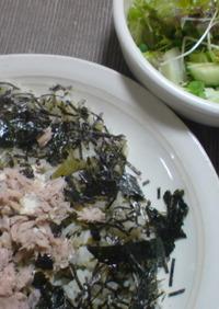 高菜とシーチキンマヨのチャーハン