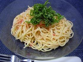10分でできる!いつでもうまい!明太子スパゲティ