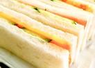 マヨがポイント!喫茶店のサンドイッチ