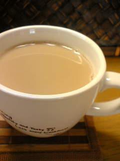 レンジで簡単♫紅茶❤豆乳