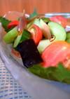 【夏野菜】白瓜と茄子・胡瓜の和風サラダ