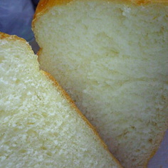 HBで♪早焼きOK!ミルク練乳食パン