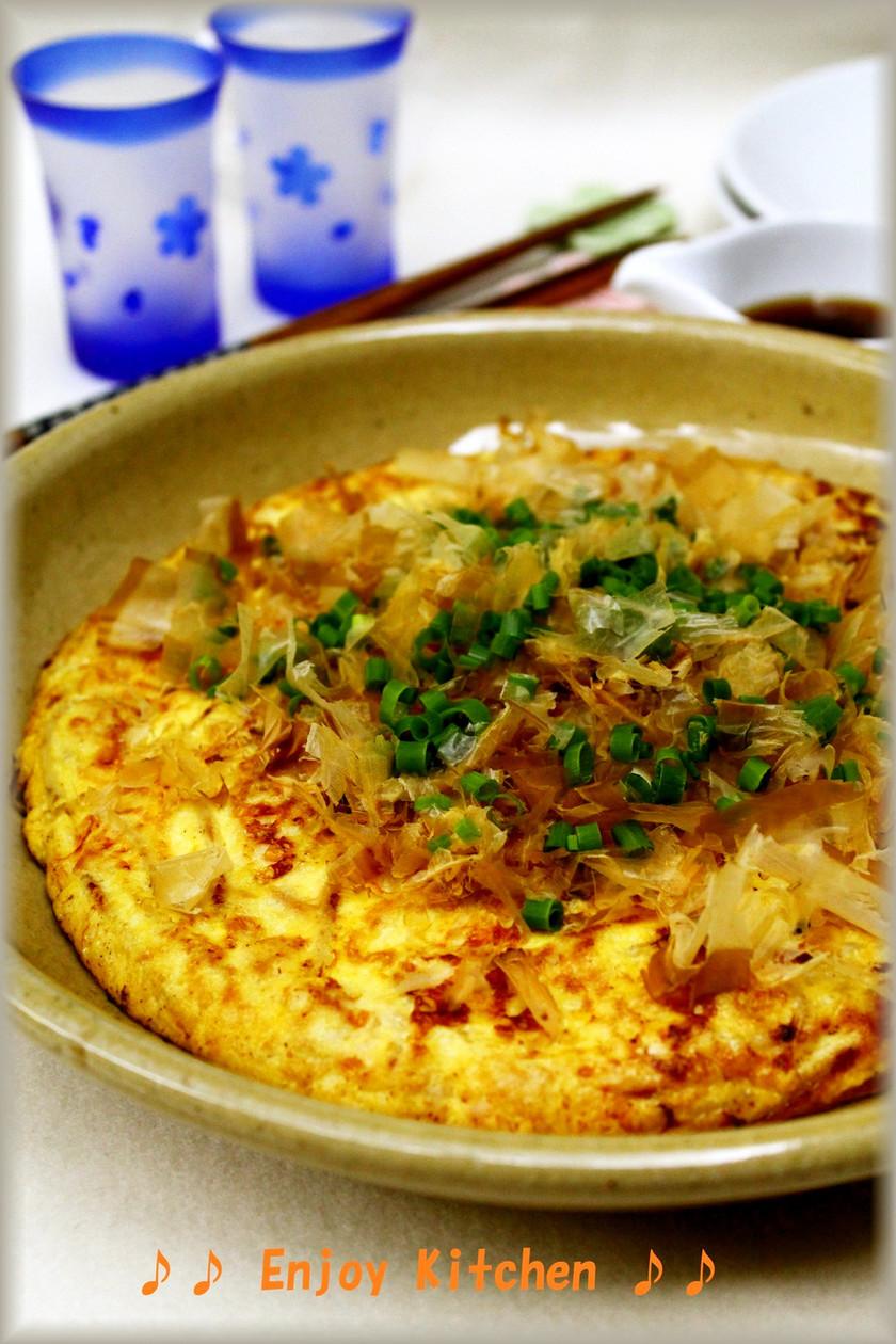 もやしとシーチキンの豆腐入りチーズ焼き
