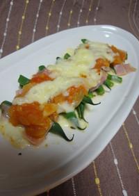 インゲンとベーコンのオーブン焼き