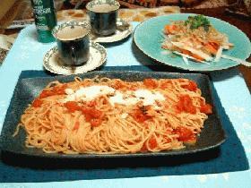 トマトのスパゲティー