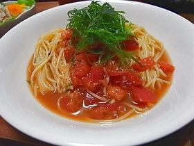 暑い夏はコレ♥トマトの冷製パスタ