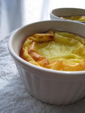 卵1個でヨーグルトケーキ