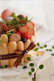 ♡デコレーションケーキ♡の写真