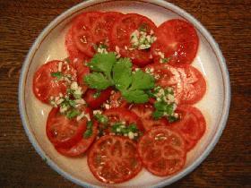タイ風!?トマトのサラダ