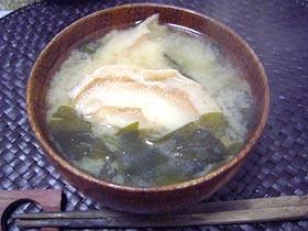 なつかし味噌汁第2段☆お麩のお味噌汁