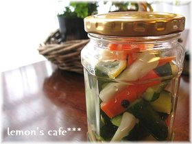 ピクルスでお野菜ポリポリ