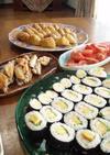 いなり寿司・サラダ巻・卵細巻き