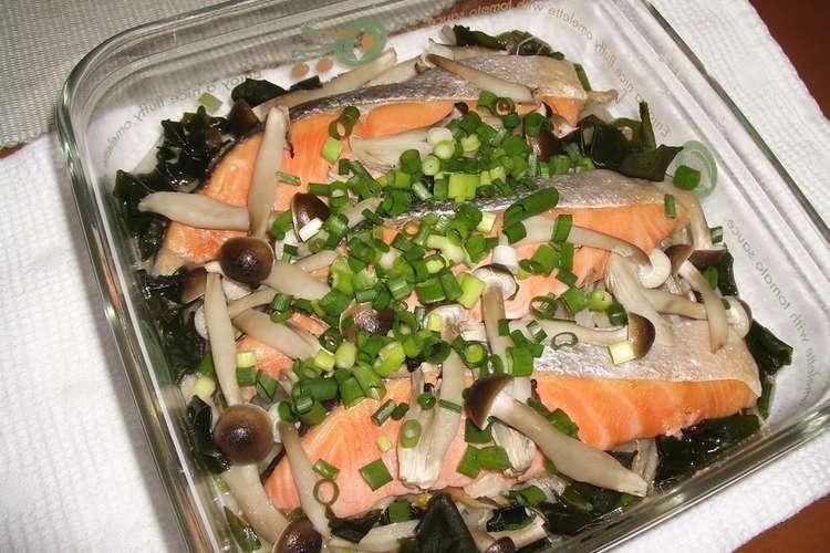 レンジ 生 鮭 レンジで3分!簡単おいしい自家製「鮭フレーク」の作り方