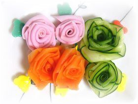 ✿美々流✿くるくるお花の巻き方☆彡