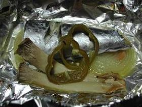 サゴシのホイル焼き