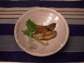 いわしの煮物、骨まで食べて!