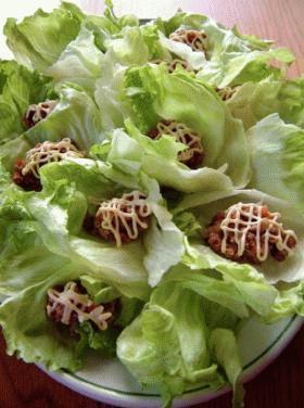 テリヤキハンバーガー風~肉味噌 ♪