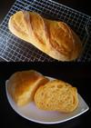 充実野菜でフランスパン(HB使用)♪