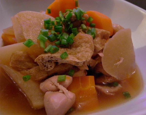 鶏肉&大根&人参&油揚げの煮物