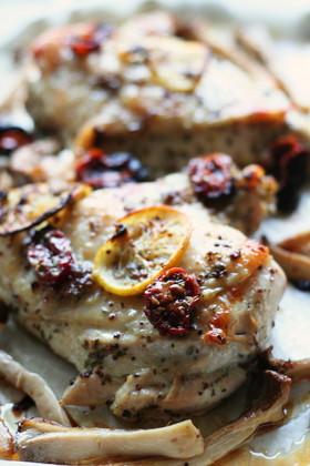 鶏胸肉のハーブマリネロースト
