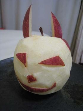 おりんごでウサギ