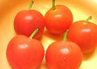 簡単キャラ弁♪プチトマトで可愛いリンゴ