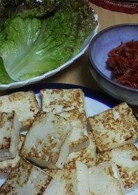 簡単!韓国の味♪キムチ豆腐
